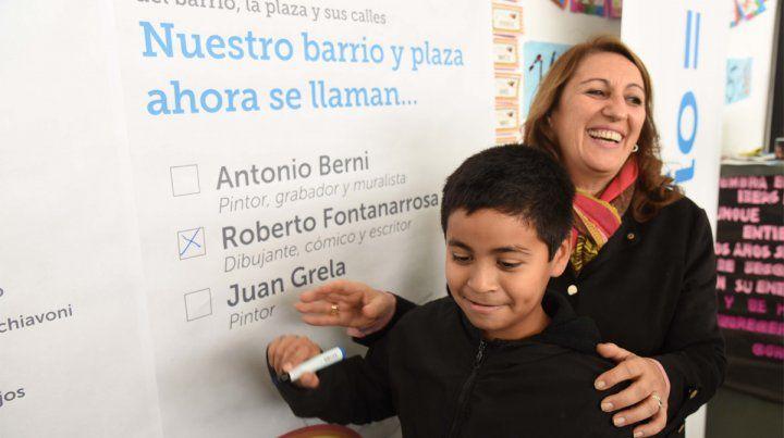 Votación. Los vecinos de la Zona Cero votaron por Fontanarrosa para el nombre del barrio.