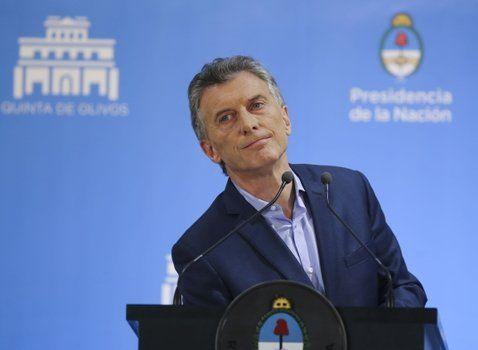 conferencia de prensa. El primer mandatario aseguró que sellará un acuerdo inteligente con el FMI.