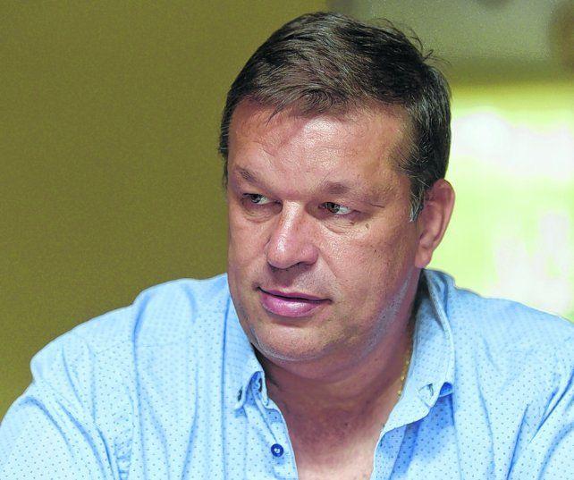 Misión devolución. El secretario leproso Juan José Concina estuvo en la AFA gestionando que le restituyan los 3 puntos a Newells.