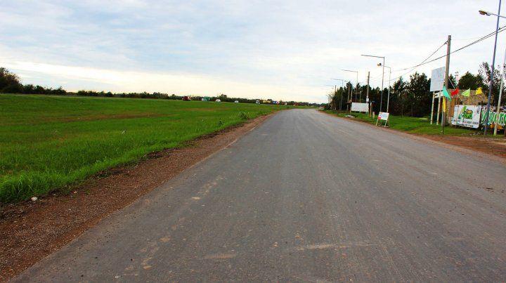 Avance. La obra afecta los barrios Tierra de Sueños II y III
