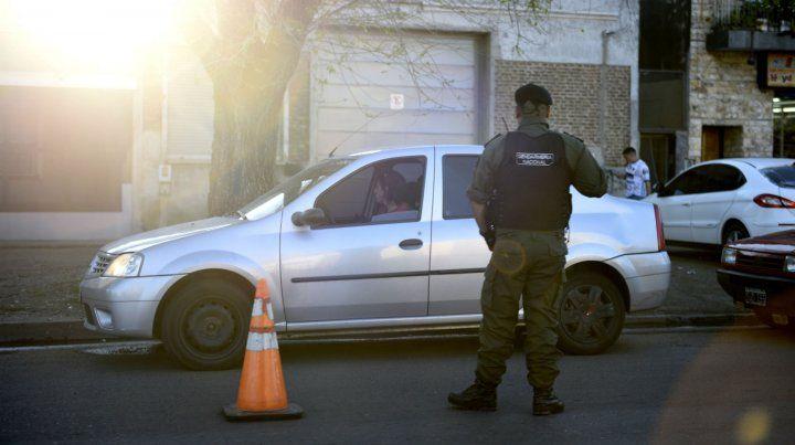 Gendarmería realizó un operativo de control en zona sur.
