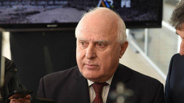 El gobernador no se mostró optimista con el acuerdo con el Fondo Monetario Internacional.