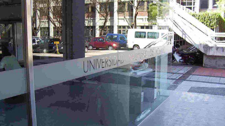 La facultad de Arquirtectura de la Universidad Nacional de Rosario.