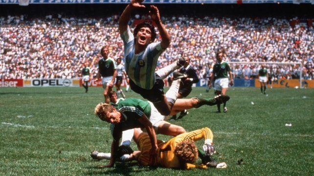 Lanzaron una serie sobre la vida de Maradona
