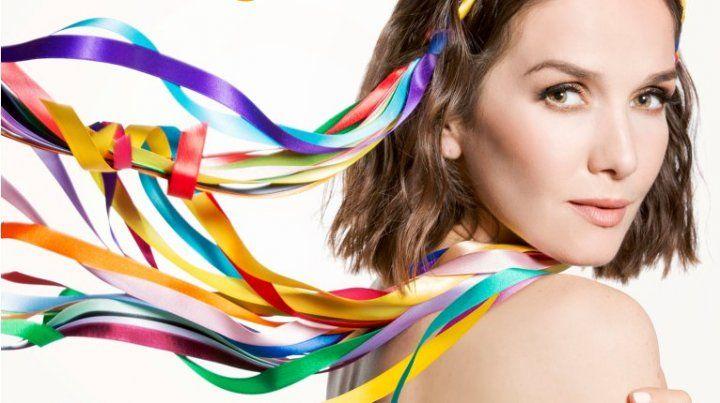 Tema inédito. Natalia Oreiro presentó su canción para el Mundial de Rusia 2018.
