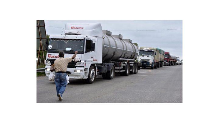 Preocupación. Los transportistas de carga de Rosario