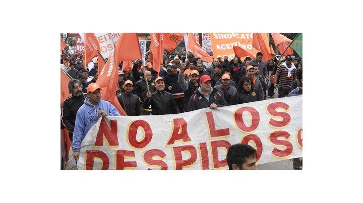 Lucha. Los trabajadores aceiteros dan una dura pelea para que Cargill reincorpore a los despedidos.