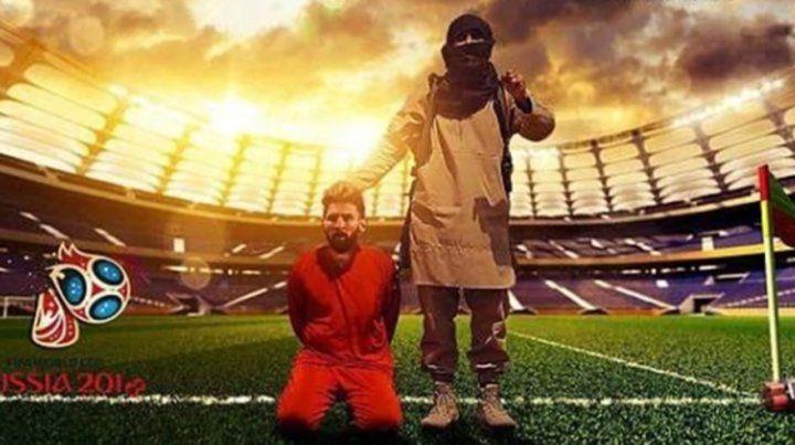 Amenazan a Messi y Ronaldo con decapitarlos en pleno partido