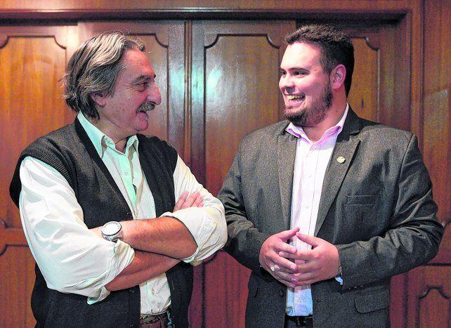 Entusiastas. Rubén Lescano