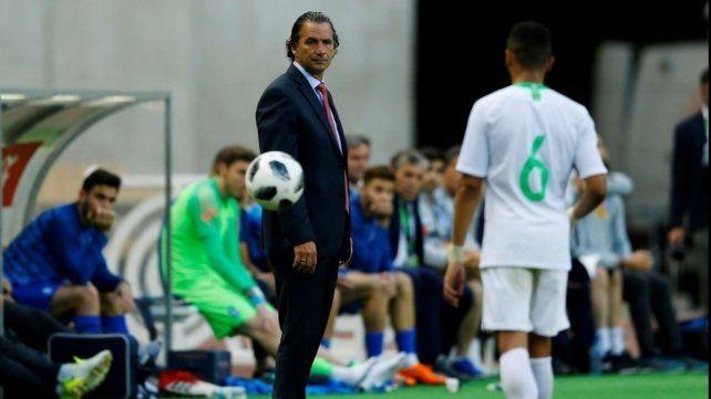 Pizzi y el gran desafío al frente de la selección de Arabia Saudita
