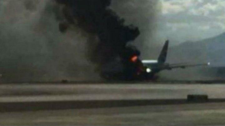 Un avión se estrelló en La Habana a poco de despegar