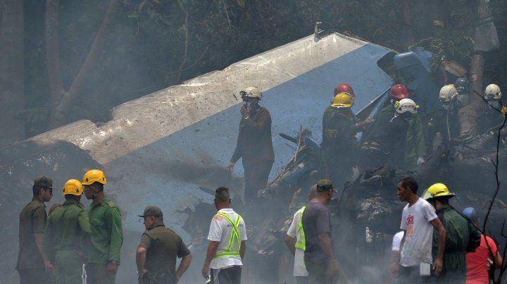 Se estrelló un avión en La Habana con 113 pasajeros y hay 3 sobrevivientes