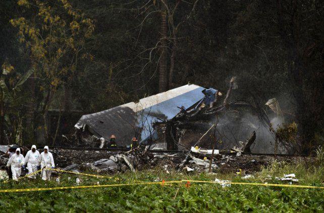 Hay dos argentinos entre las víctimas del accidente aéreo en Cuba