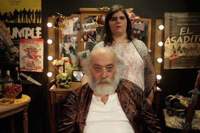 Personaje y protagonista. Tito Gómez asegura que no hay que olvidar que el cine es una gran mentira.