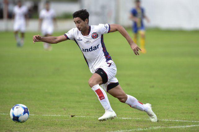 Va al frente. Cristian Sánchez es pieza clave en el equipo dirigido por Cuffaro Russo.