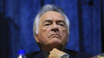Deseos. Barrionuevo dijo que el ministro Triaca está articulando un gran acuerdo con la CGT.