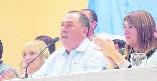 Ratner presentó su lista ante una multitud que colmó la sede gremial de calle Entre Ríos.