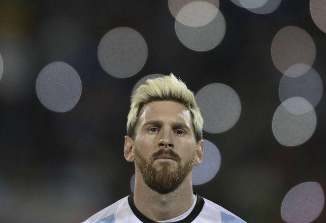 Genio y figura. La Pulga buscará en su cuarto intento alzar la Copa del Mundo.