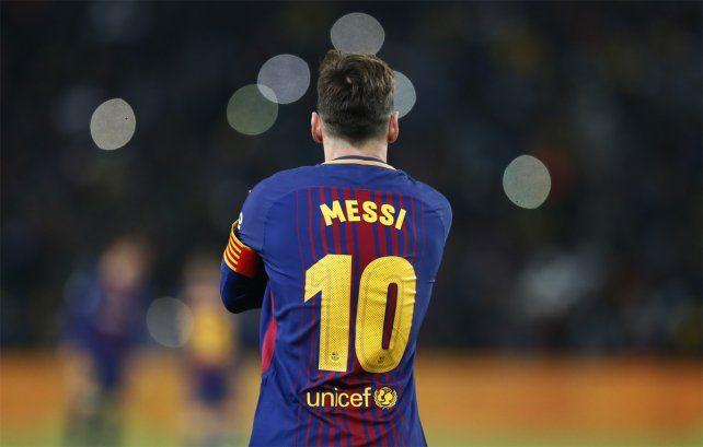 Récord. Leo Messi obtuvo otro premio individual