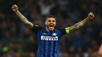 A puro gol. Inter logró la clasificación a la Champions con una gran versión de Mauro Icardi.