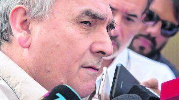 crítico. Juan Carlos Schmid, triunviro de la CGT, disparó contra el programa económico de la Casa Rosada.