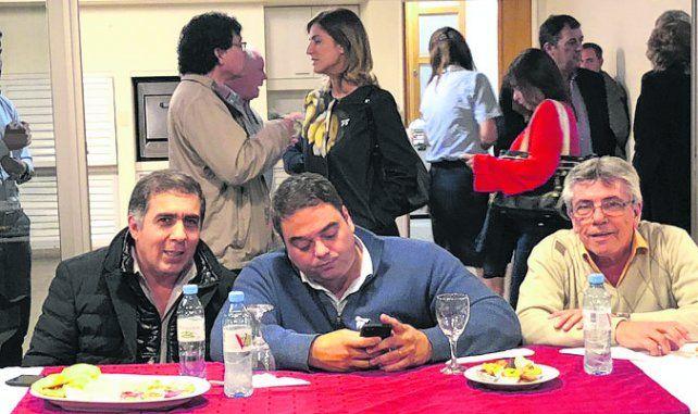 Jorge Triaca pasó por la ciudad y mantuvo una reunión con gremialistas.