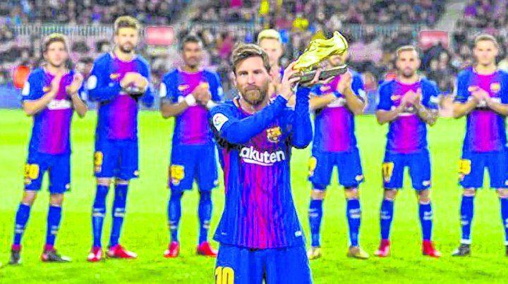 Messi llega al Mundial con otra Bota de Oro