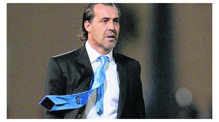 La visión del Checho. Batista dirigió sin éxito a la selección argentina.