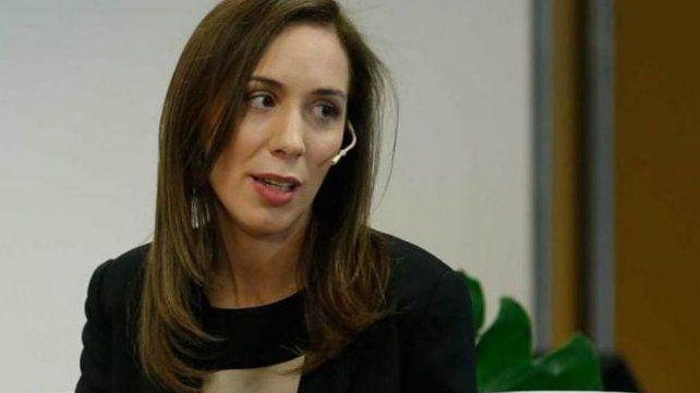 La gobernadora de Buenos Aires está en contra del proyecto.