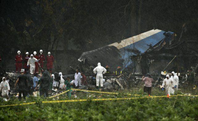 El estado de las sobrevivientes del accidente aéreo de Cuba