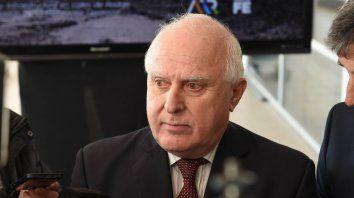 Lifschitz llevó a la Nación una contrapropuesta por la actualización de los bonos