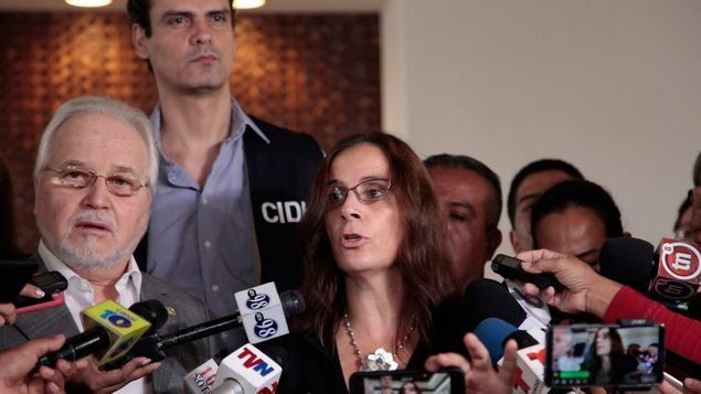 La comisionada Antonia Urrejola