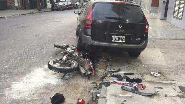 Dos bailarinas persiguieron a motochorros y uno de ellos terminó muerto