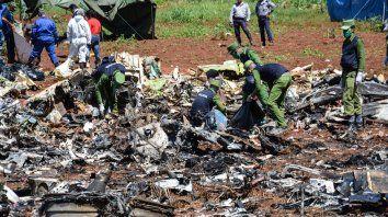 Falleció una de las tres sobrevivientes del accidente aéreo en Cuba