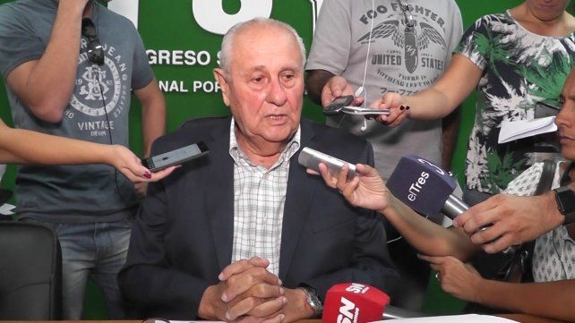 El diputado provincial Héctor Cavallero será uno de los participantes esta tarde.