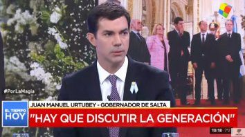 Yo no hubiera ido al FMI, dijo Juan Manuel Urtubey