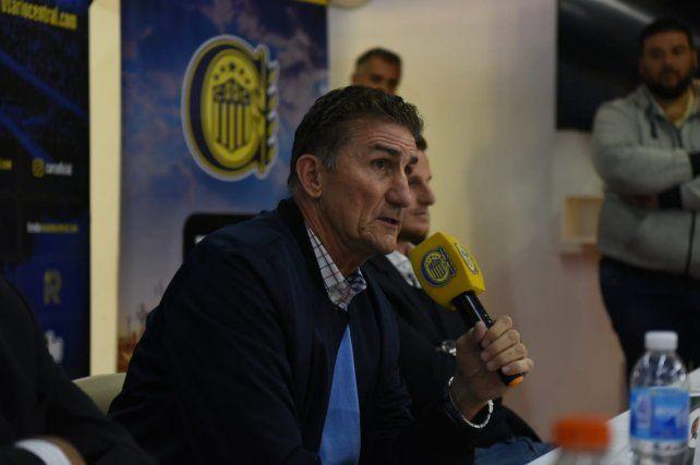 Bauza: No conozco otro objetivo que no sea salir campeón con Central