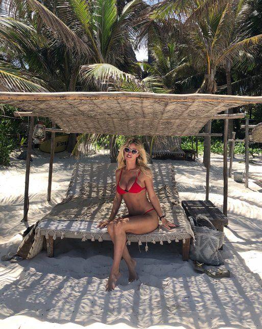 Guirao Díaz ahora respondió a las críticas con un video en bikini