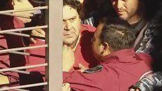 El secretario general de la Asociación Gremial de Trabajadores del Subte y Premetro, Néstor Segovia, es detenido.