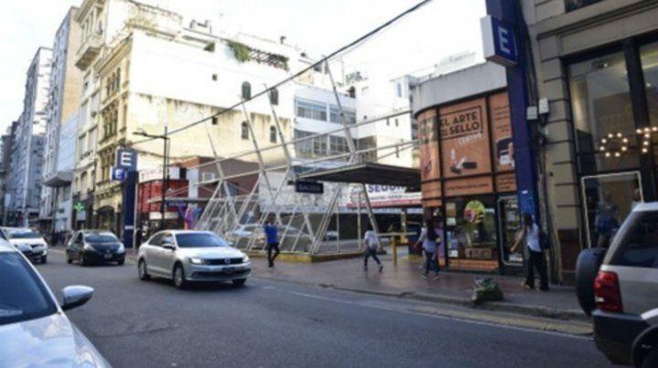 El constructor busca cumplir una iniciativa trunca del municipio en la cuadra de Corrientes al 600.