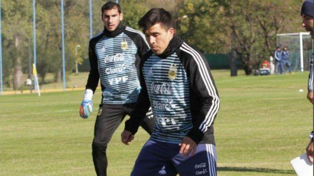 El Patón Guzmán ya realizó su primer entrenamiento con la selección