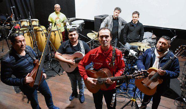 Impronta de Gipsy Kings. La banda le da un toque latino a los clásicos.