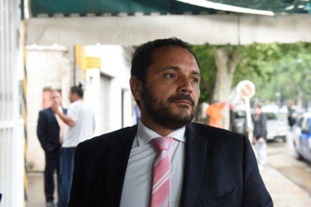 acusador. El fiscal Adrián Spelta llevó adelante la imputación de Duarte.