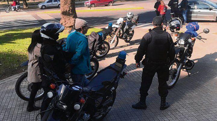 detenido. El imputado fue apresado el domingo en el parque Urquiza.