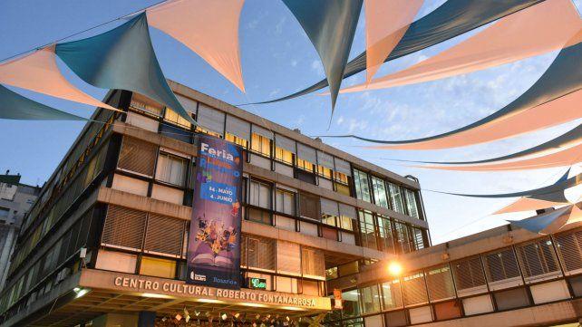 La sede. El Centro Cultural Fontanarrosa ya está preparado para recibir esta feria.