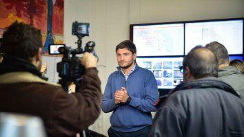 Pullaro habló esta mañana en la sede Gobernación sobre el arribo del refuerzo de Gendarmería.