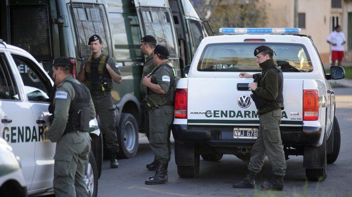 Confirman que los refuerzos de Gendarmería llegarán a Rosario el domingo por la tarde