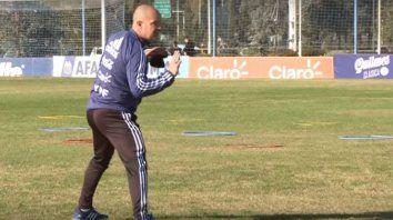 Sampaoli: Romero se quería quedar, pero había que decidir