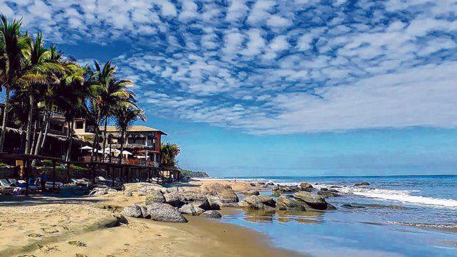 Destino austero. Las playas se destacan por su amplitud