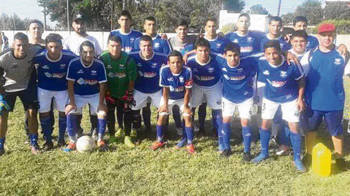 El campeón 2017. El equipo dirigido por W. Fleitas se quedó con la Copa Mariano Reyna.